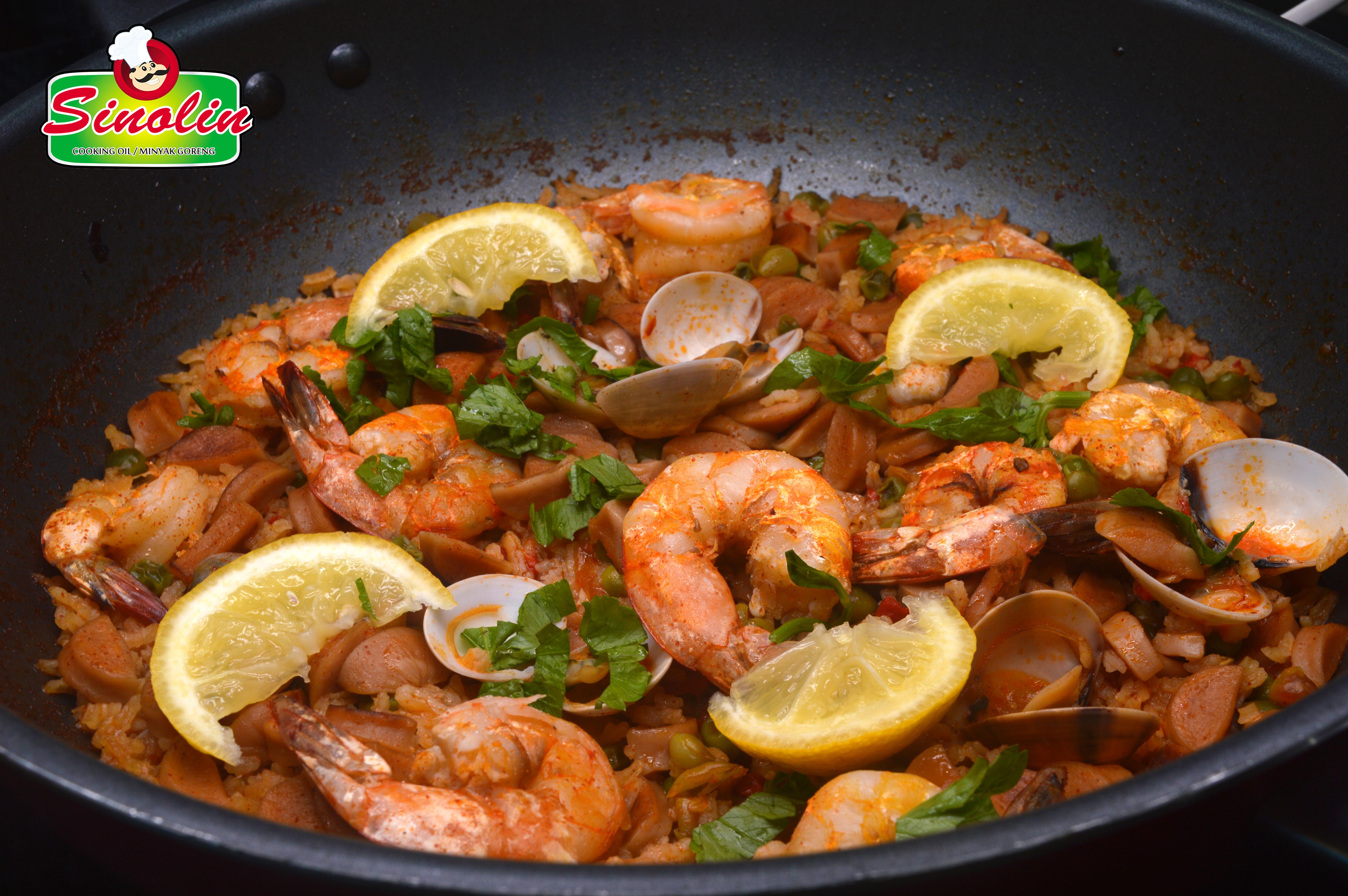 Resep Seafood Paella Mudah oleh Dapur Sinolin