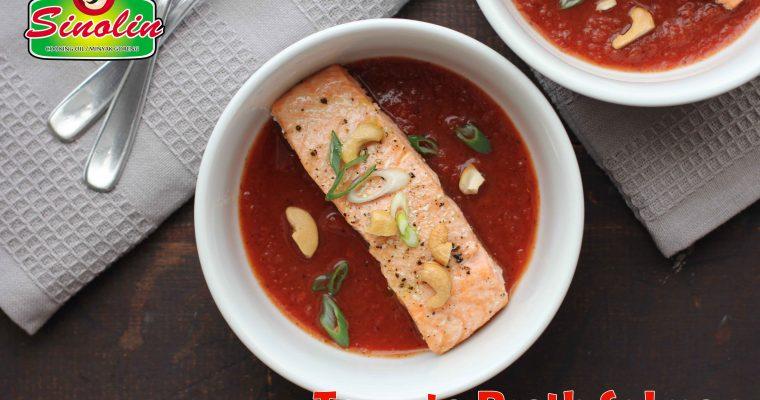 Tomato Broth Salmon
