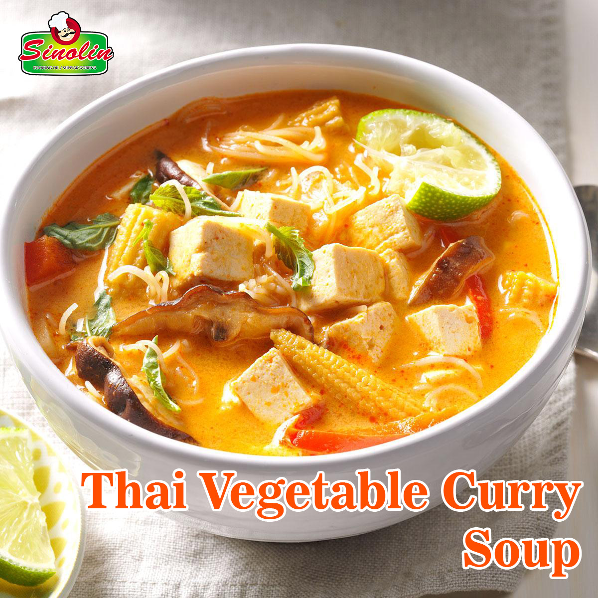 Vegetable Thai Curry Soup