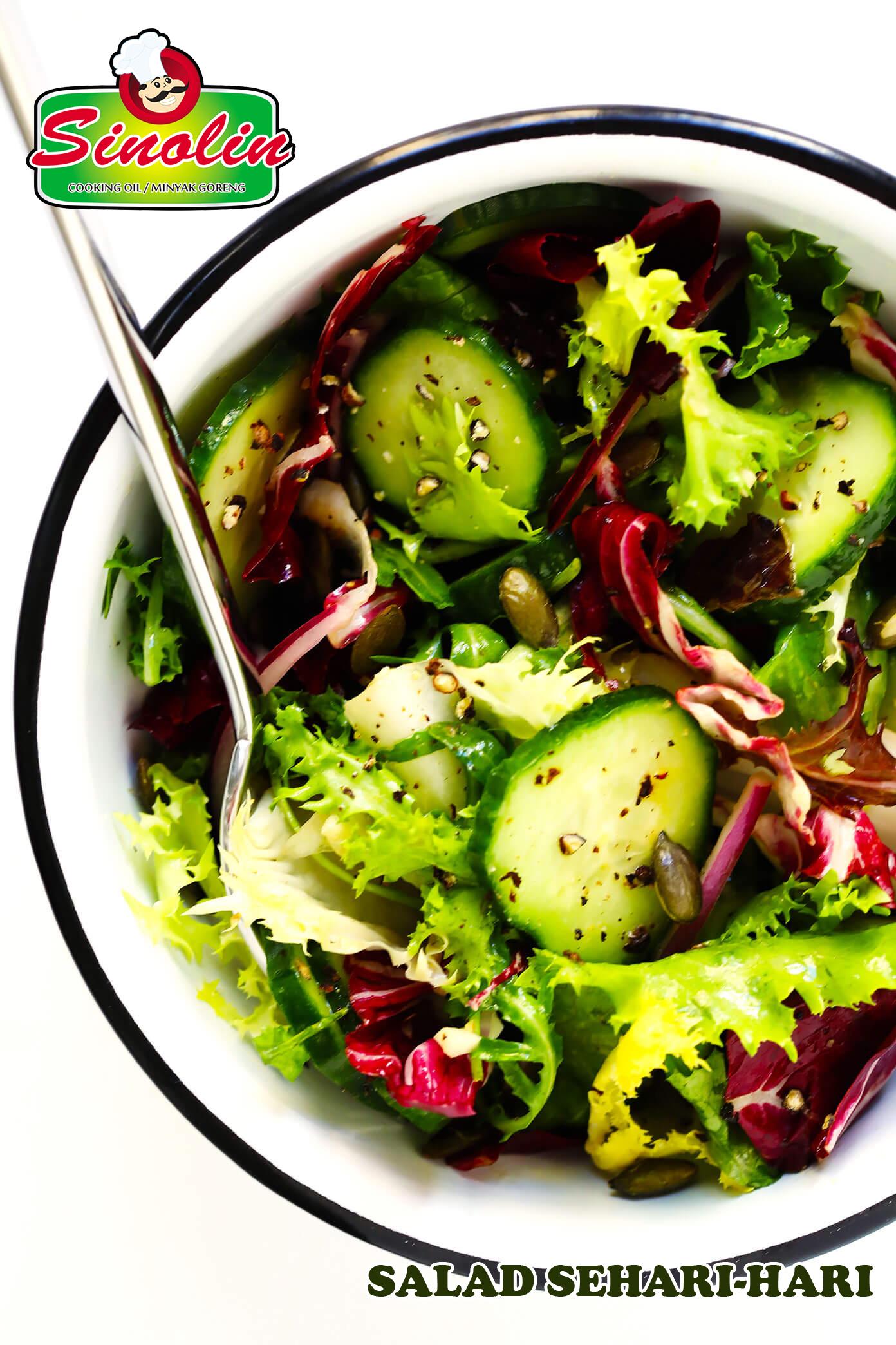 Salad Sehari-hari Oleh Dapur Sinolin