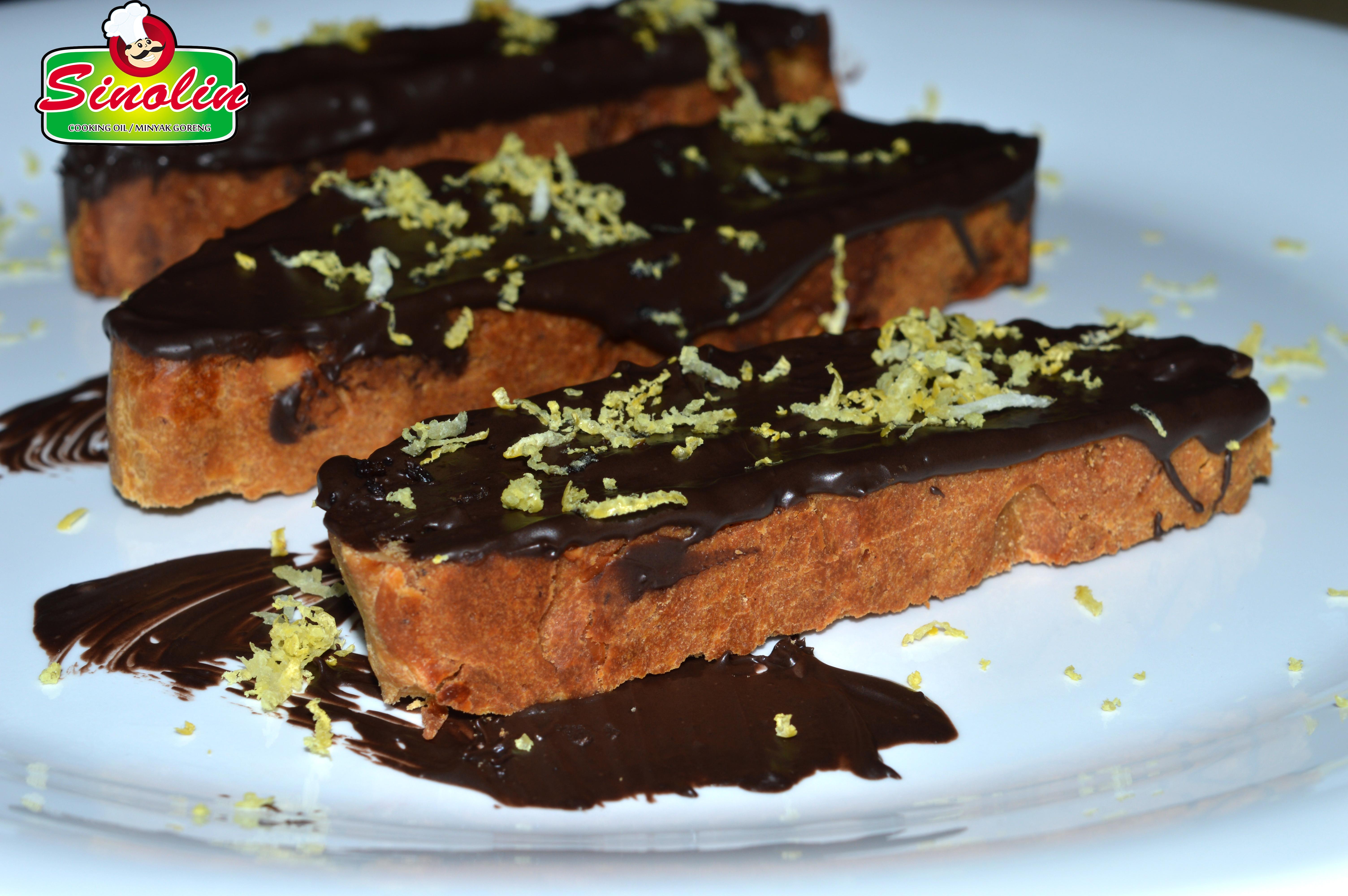 Biskuit Coklat dengan Almon dan Lemon oleh Dapur Sinolin