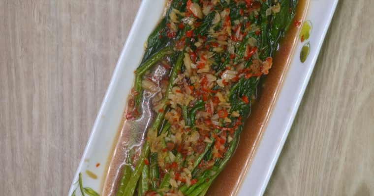 Steamed Broccoli with Spice Spices by Dapur Sinolin