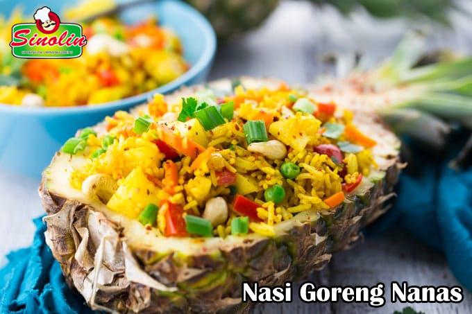 Nasi Goreng Nanas Oleh Dapur Sinolin