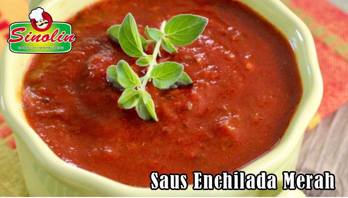 Saus Enchilada Merah Oleh Dapur Sinolin