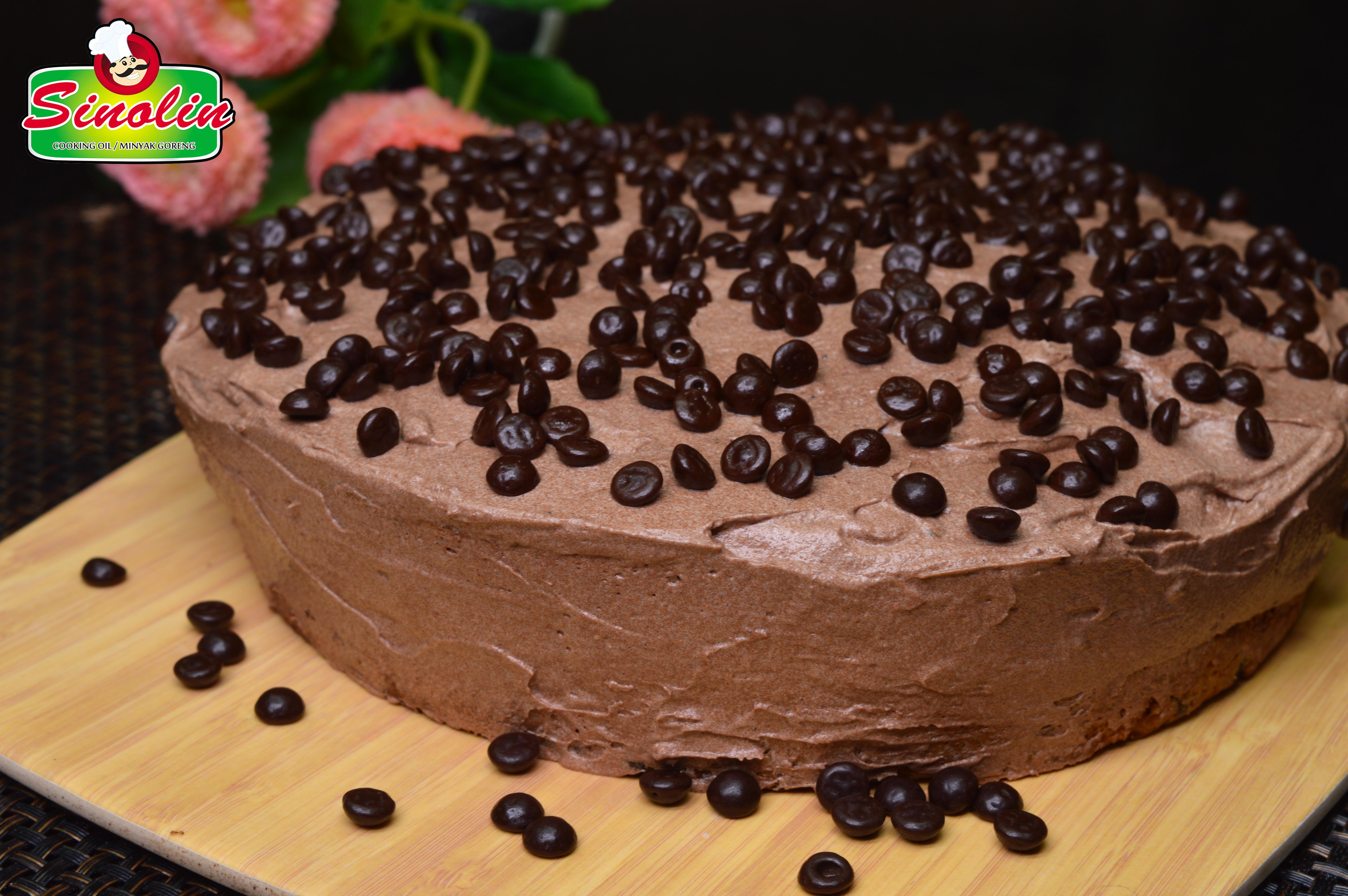Kue Lapisan Coklat Oleh Dapur Sinolin