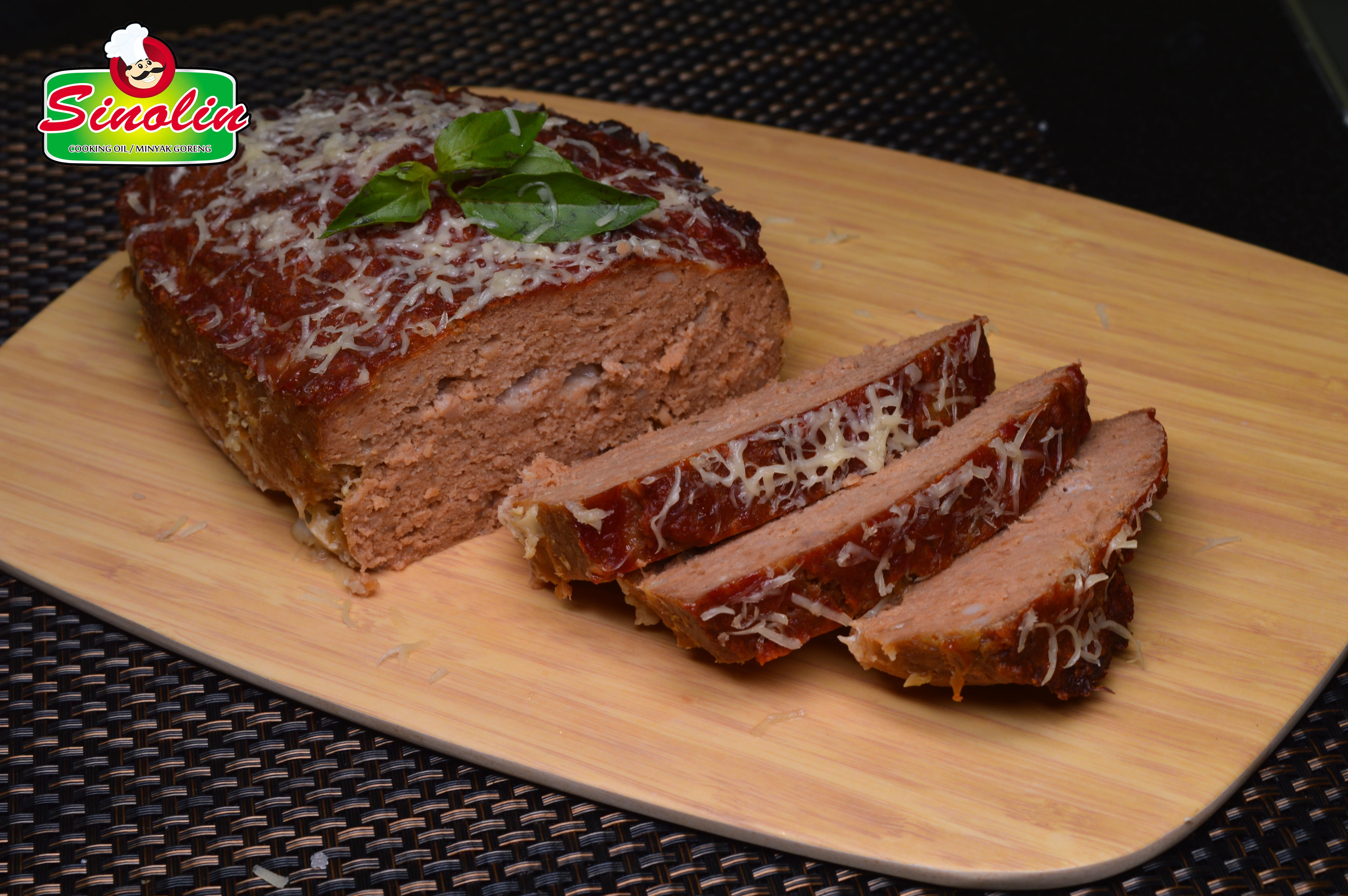 Daging Panggang Parmigiana Oleh Dapur Sinolin