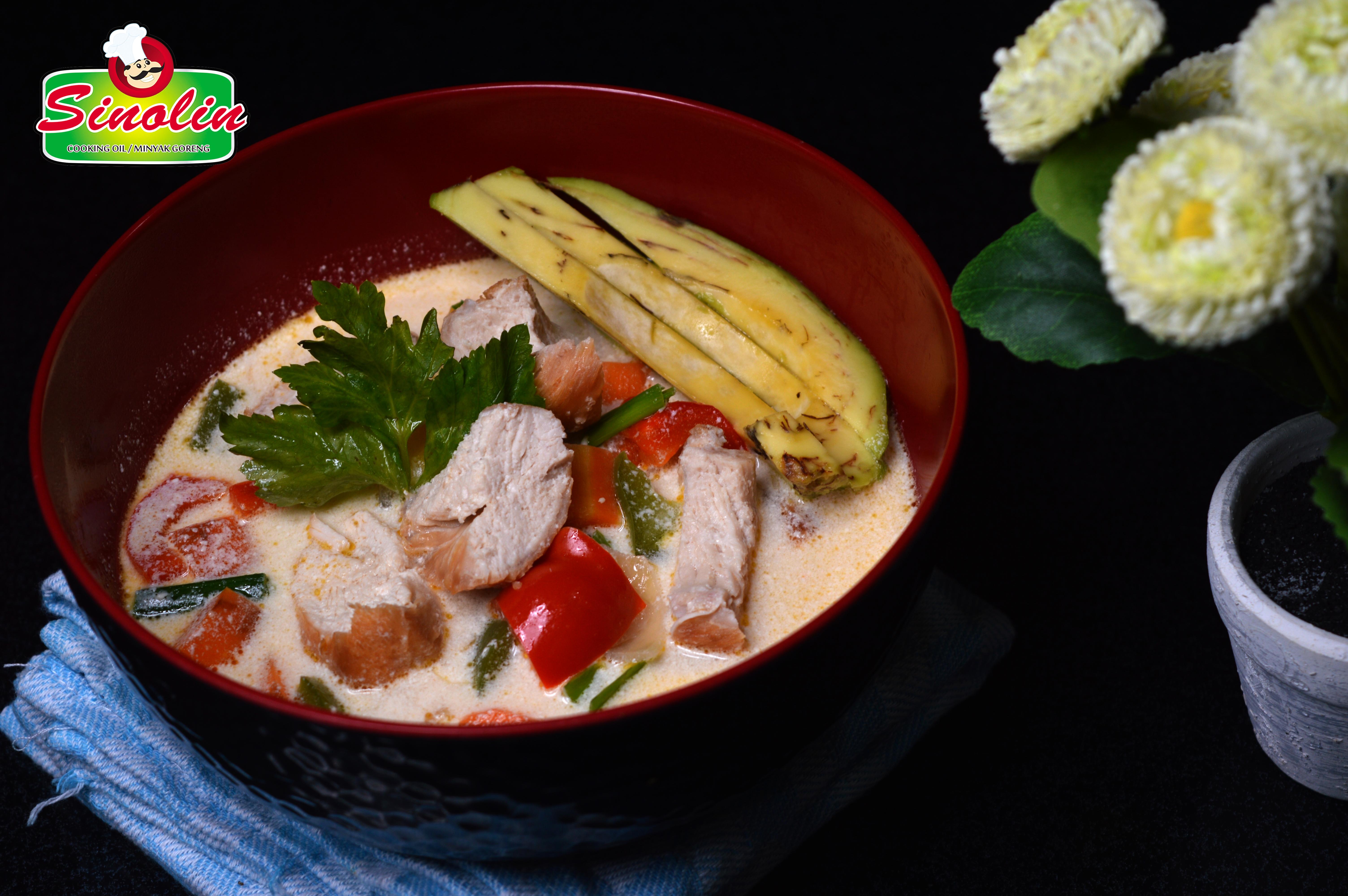 Sup Krim Ayam Oleh Dapur Sinolin