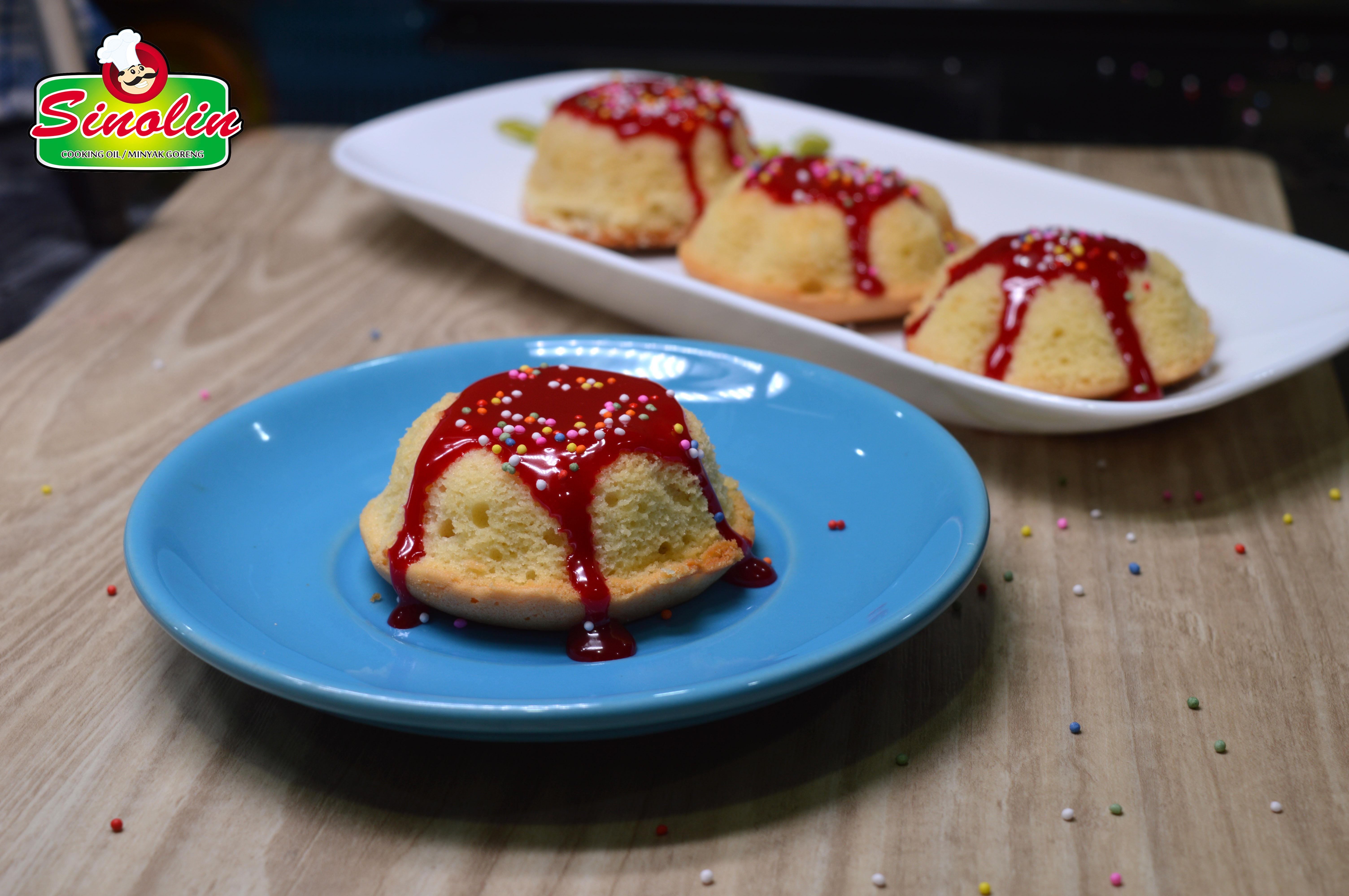 Kue Vanilla Pound Mini oleh Dapur Sinolin