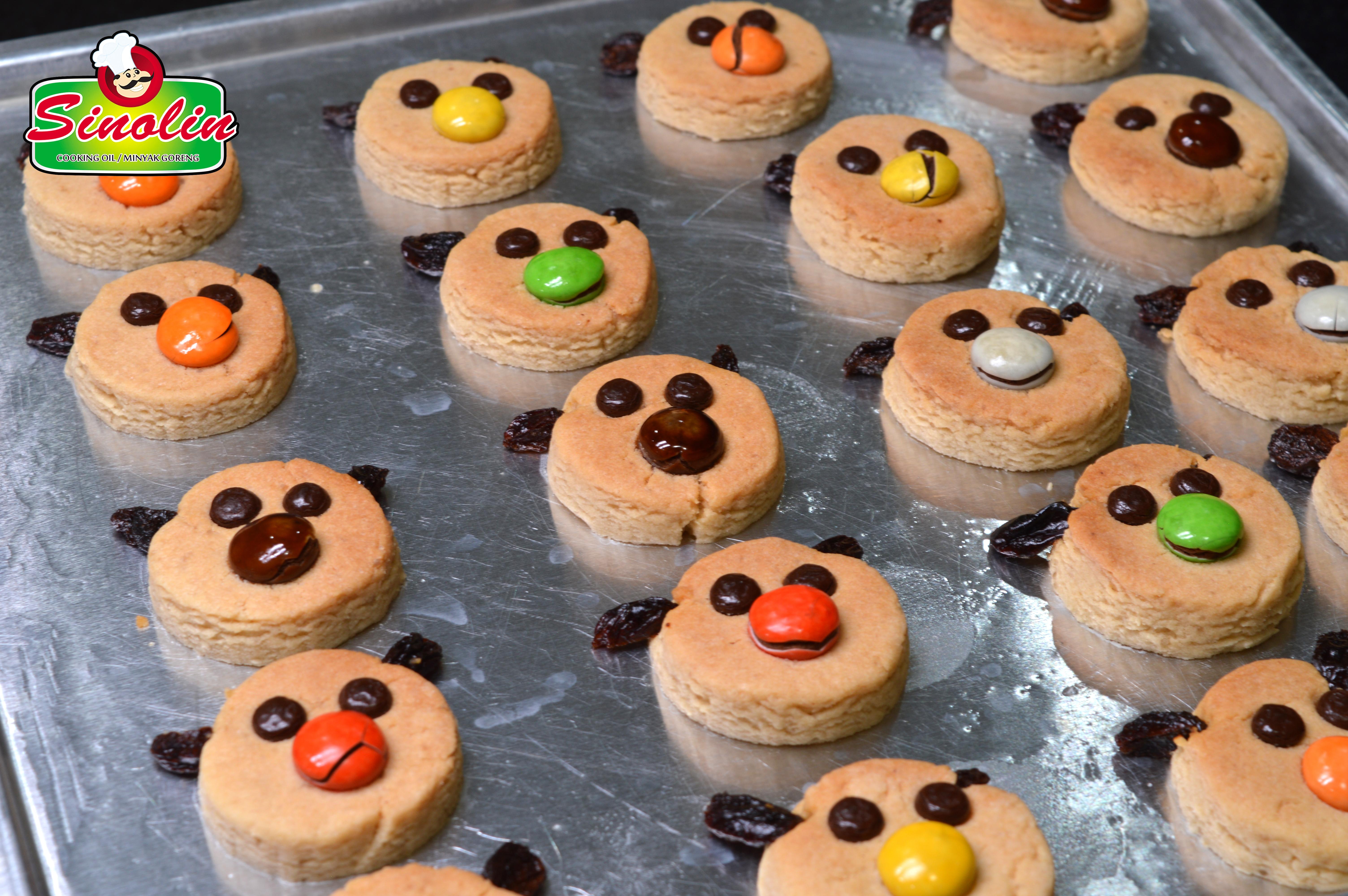 Kukis Kacang Rusa Kutub Oleh Dapur Sinolin