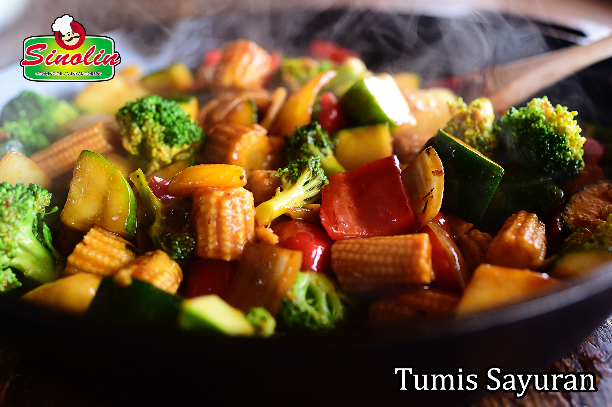 Tumis Sayuran Oleh Dapur Sinolin