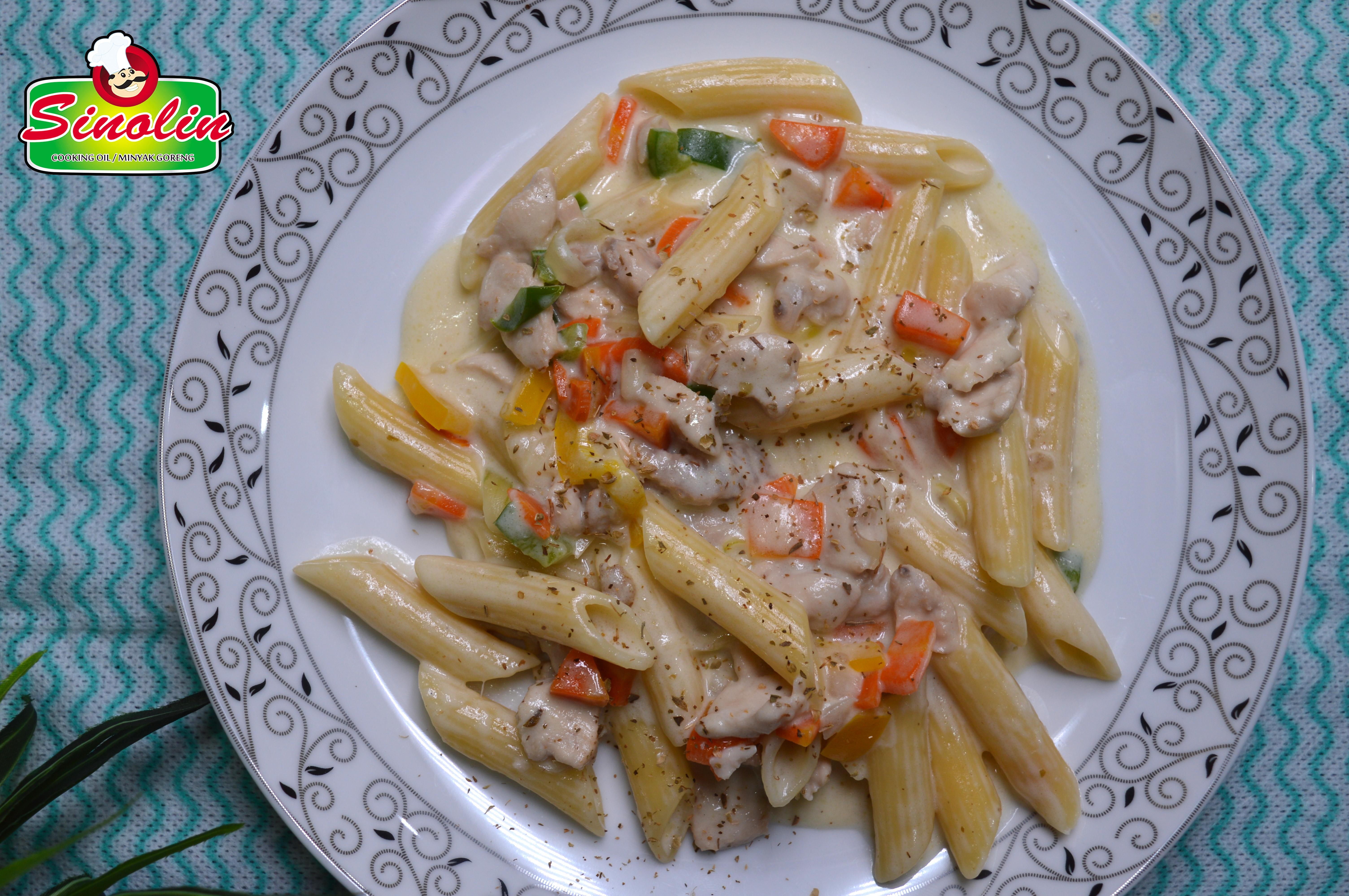 Chicken Macaroni and Cheese By Dapur Sinolin