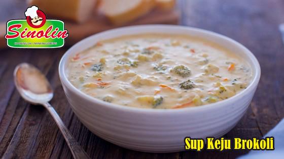 Sup Keju Brokoli Oleh Dapur Sinolin
