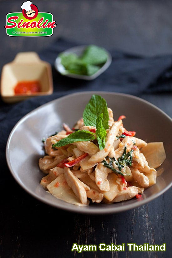 Ayam Cabai Thailand Oleh Dapur Sinolin