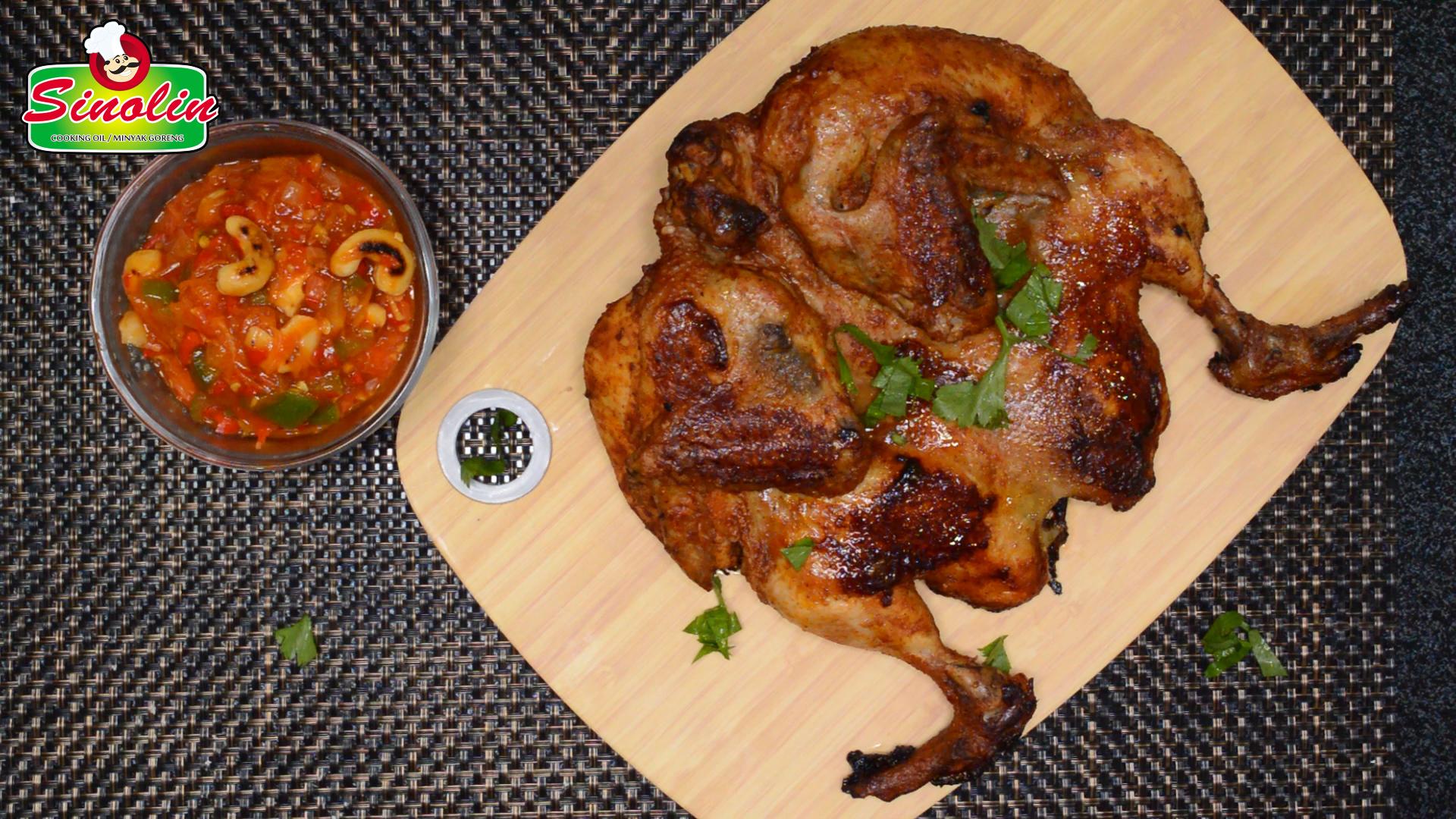 BBQ Chicken with Chakalaka Sauce by Dapur Sinolin