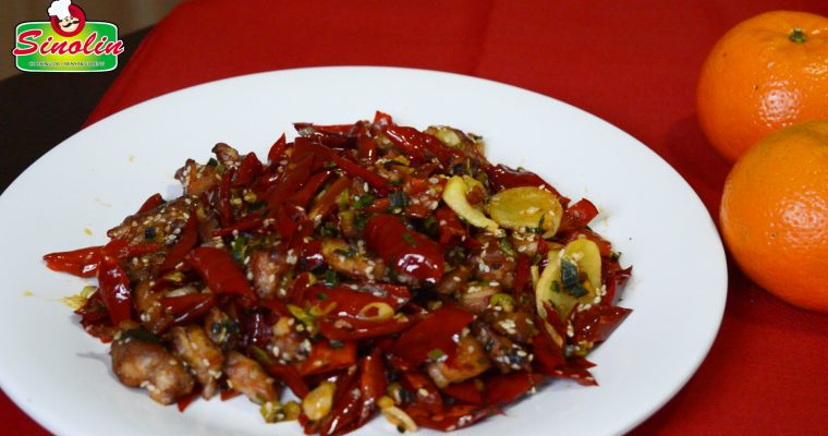 Mala Chicken Chinese Recipe Oleh Dapur Sinolin