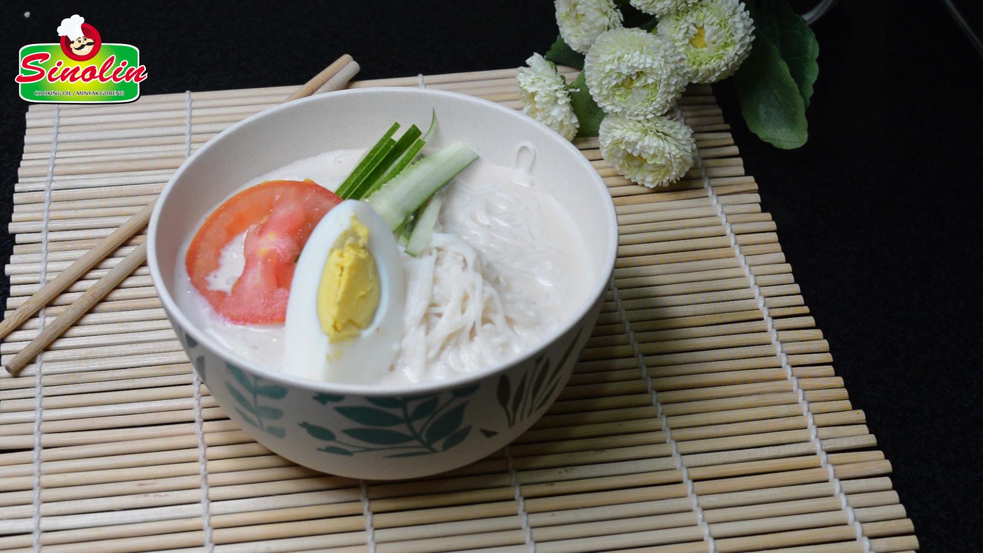 Sup Mie Susu Kedelai (Kongguksu) oleh Dapur Sinolin