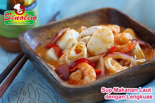 Makanan Laut dengan Lengkuas oleh Dapur Sinolin