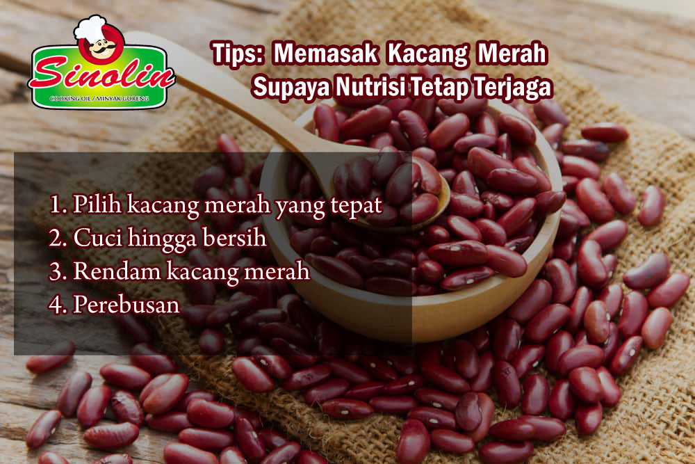 Tips: Cooking Red Beans To Keep Their Nutrition Awake By Dapur Sinolin