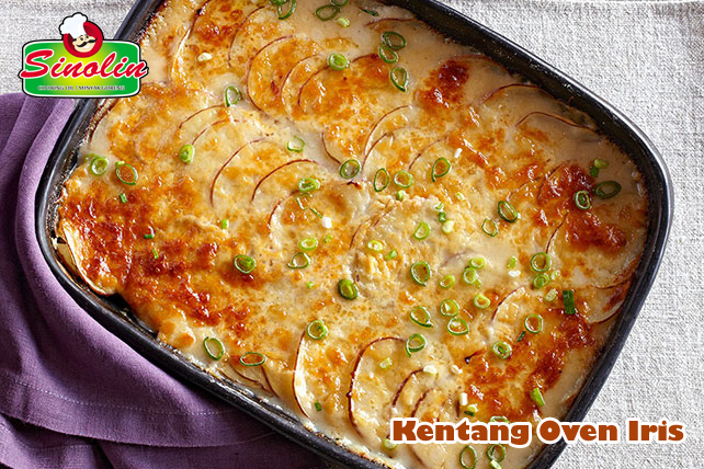 Scalloped Potatoes By Dapur Sinolin
