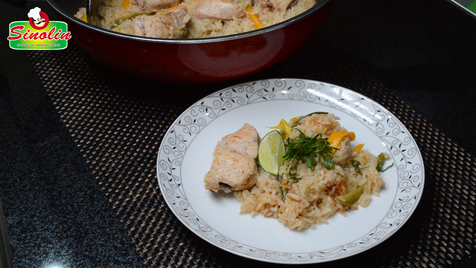 Fajita Chicken and Rice Dinner by Dapur Sinolin