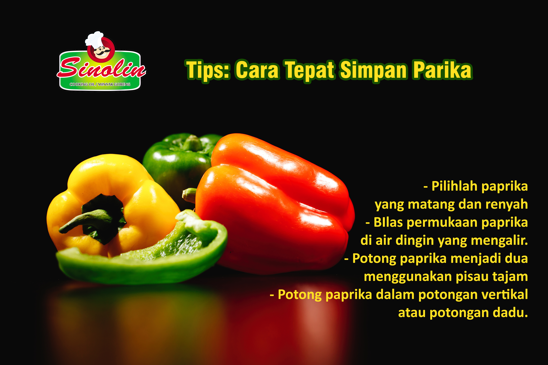 Tips: Simpan Paprika Dengan Baik Oleh Dapur Sinolin
