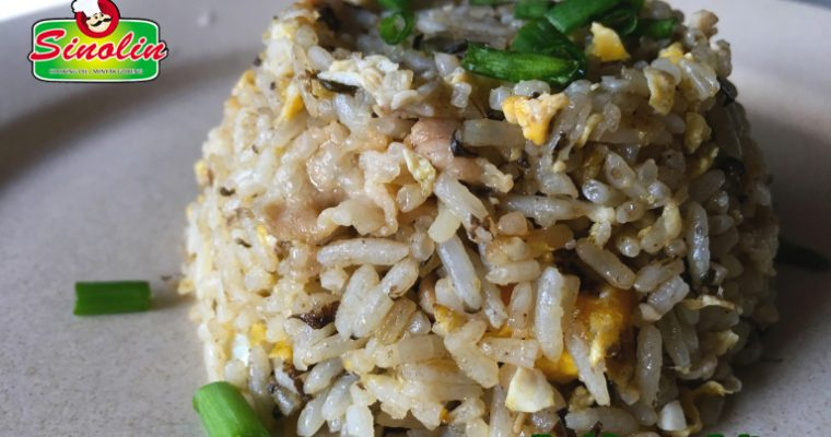 Recipe Olive Fried Rice (橄榄菜炒饭) By Dapur Sinolin