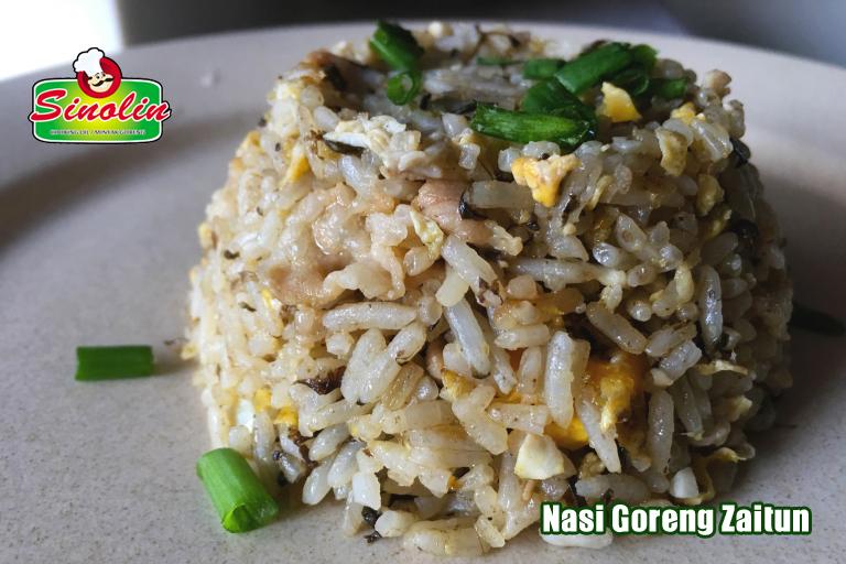 Resep Nasi Goreng Zaitun (橄榄 菜 炒饭)