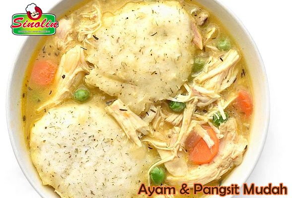 Easy Chicken & Dumplings  By Dapur Sinolin