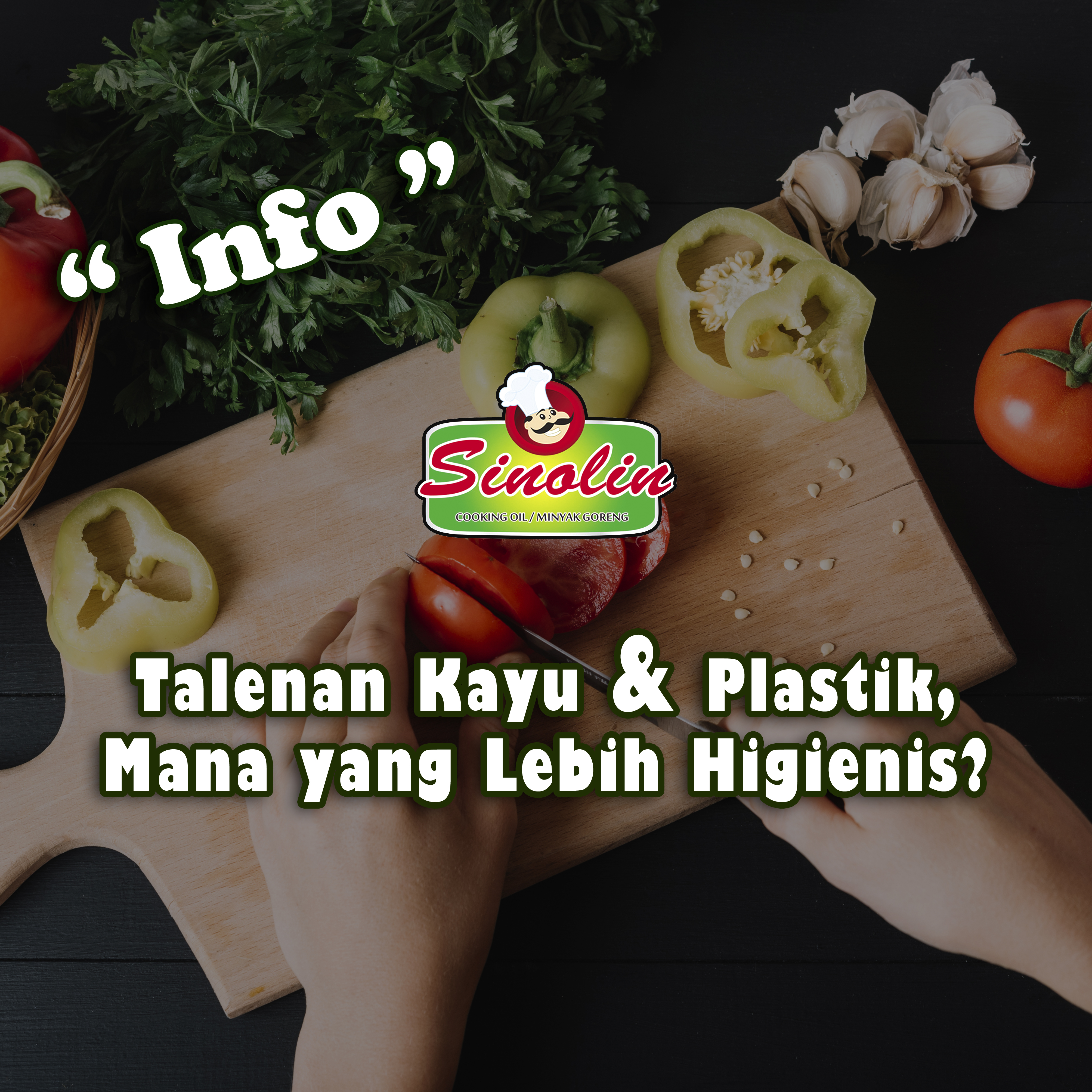 Info: Wood & Plastic Cutting Board, Which Is More Hygienic? By Dapur Sinolin