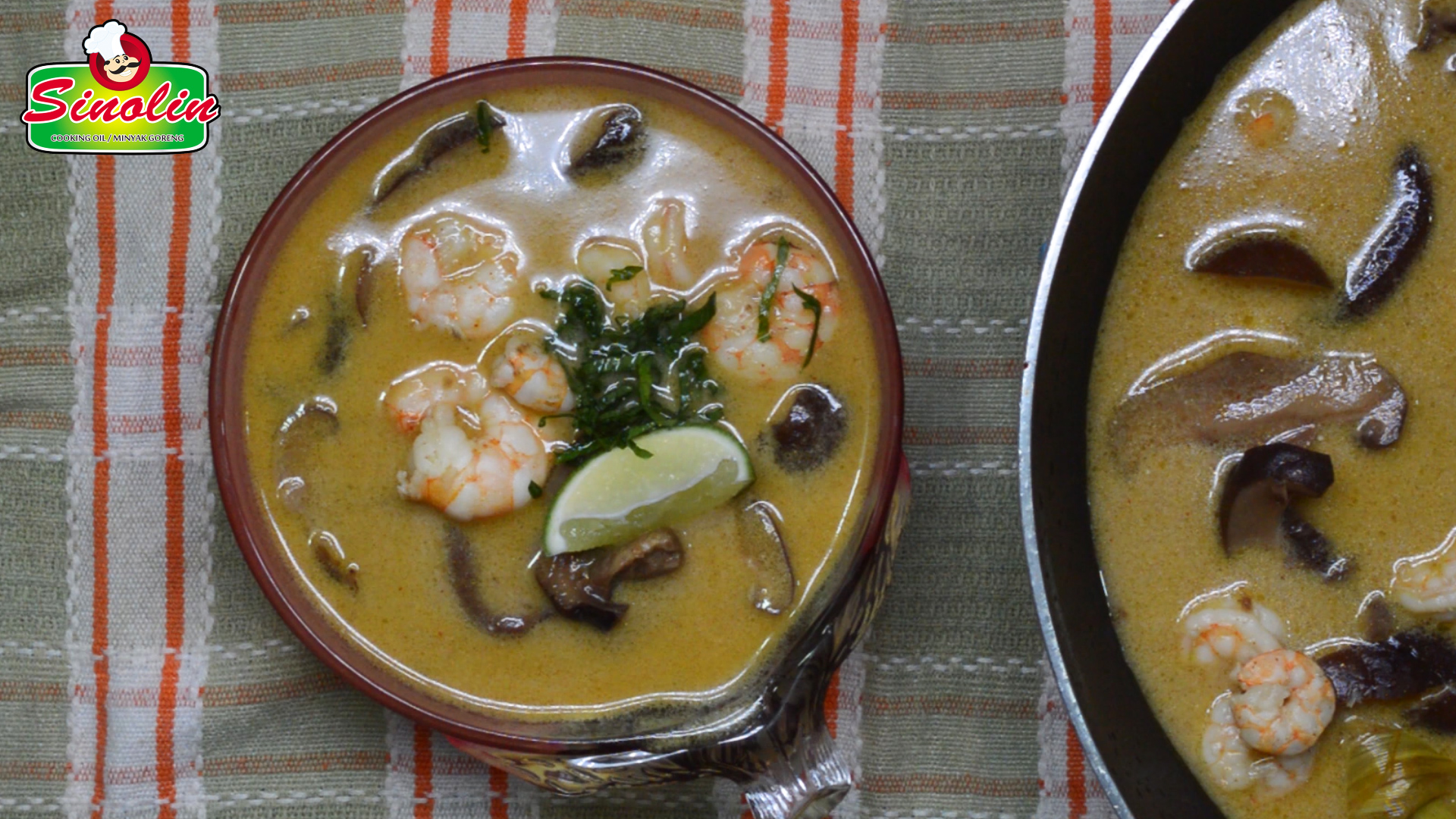 Best Thai Coconut Soup by Dapur Sinolin