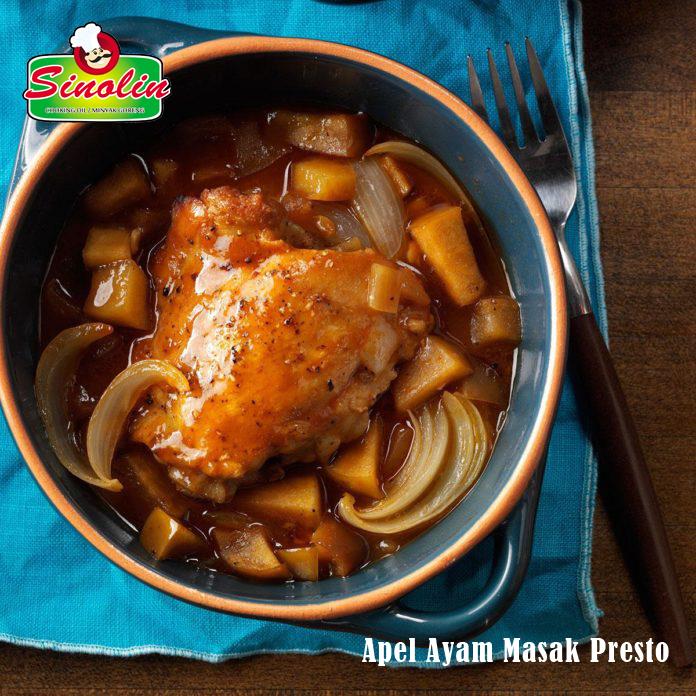 Apel Ayam Masak Presto Oleh Dapur Sinolin