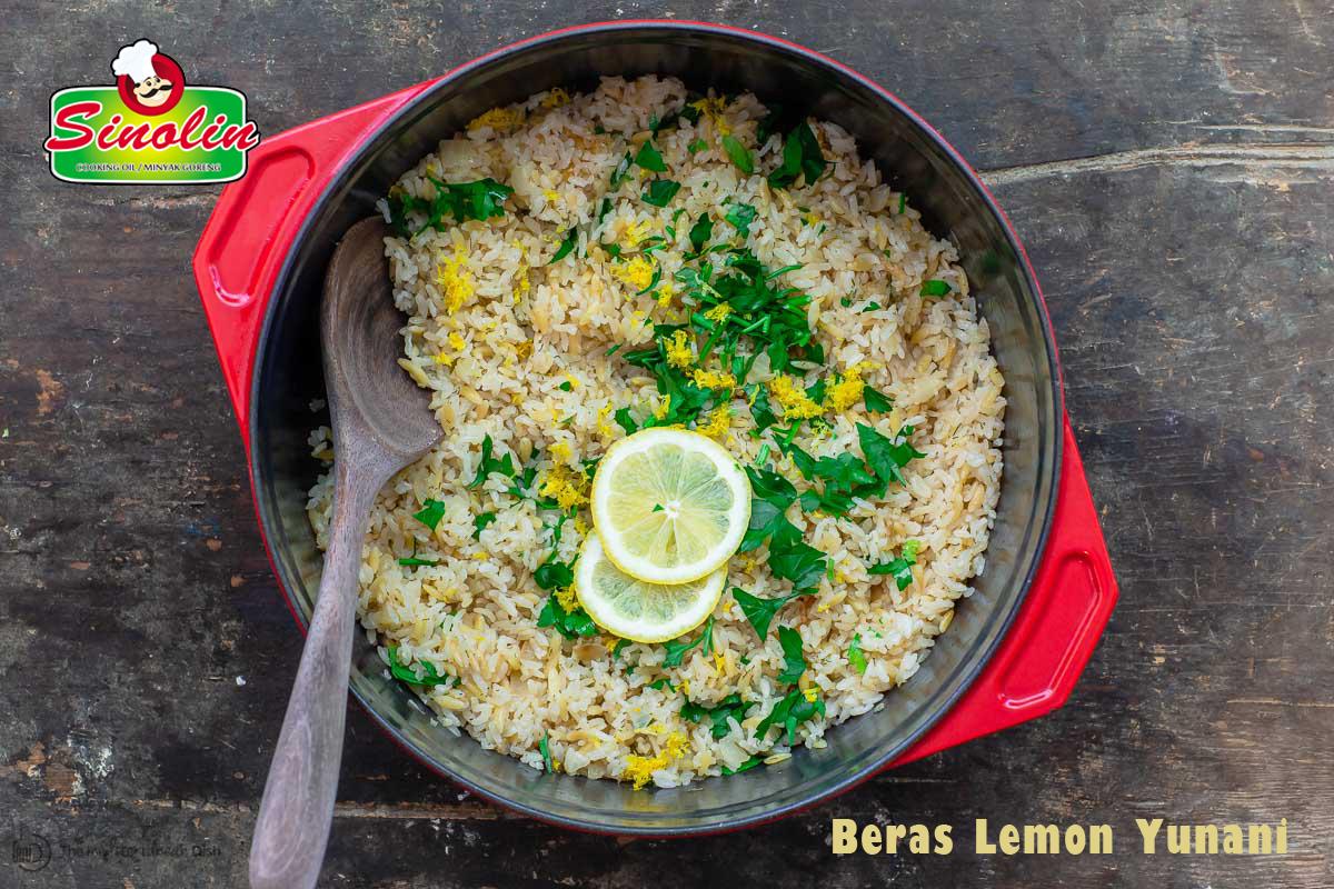Resep Beras Lemon Yunani  Oleh Dapur Sinolin