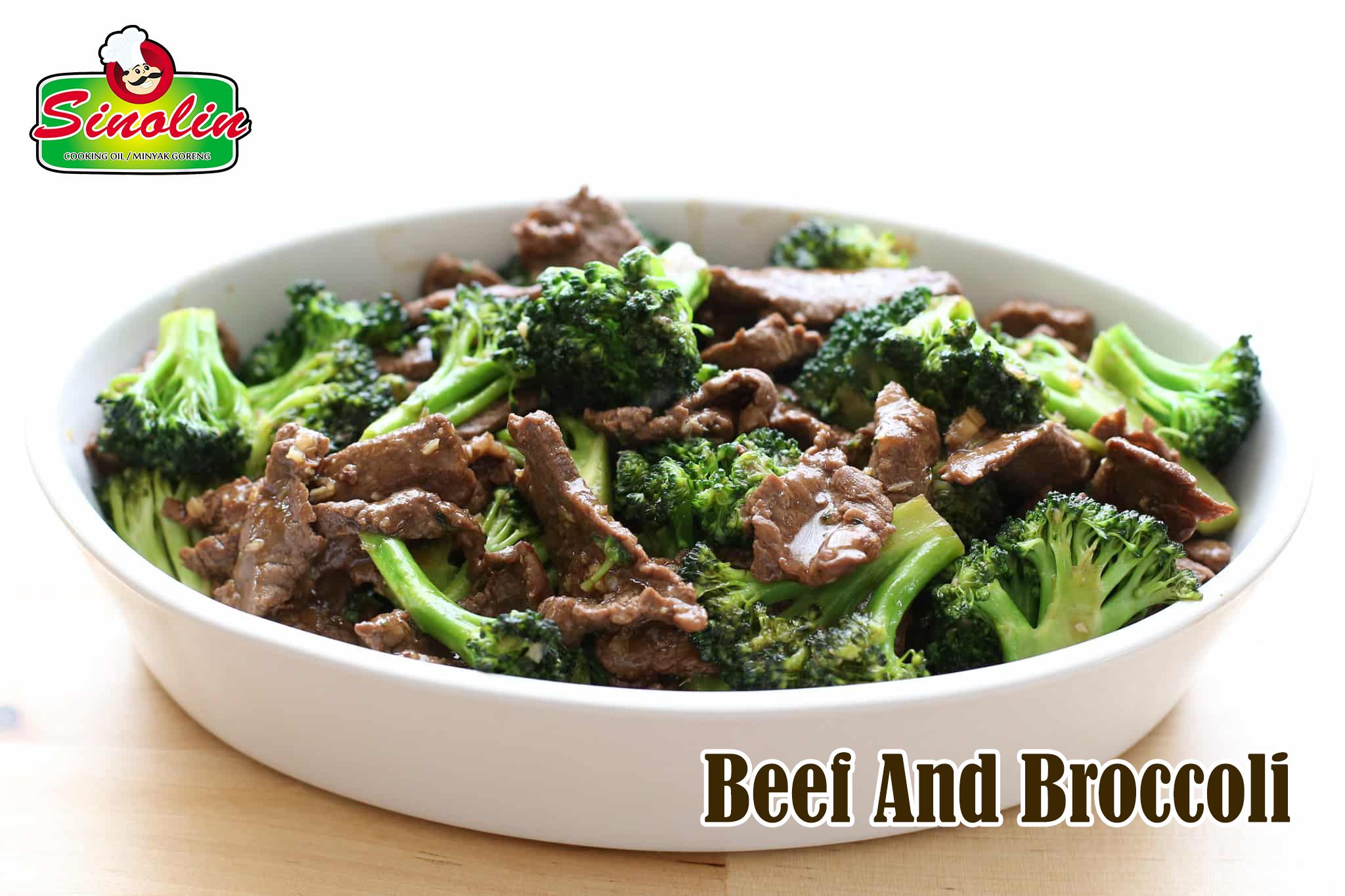 Daging Sapi dengan Brokoli Oleh Dapur Sinolin