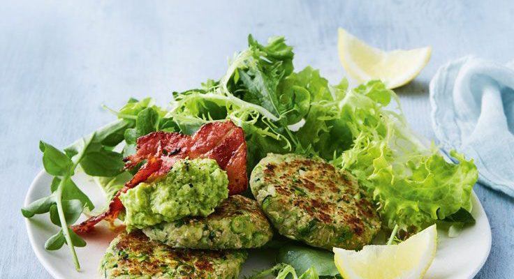 Haloumi, Pea and Chia Fritters By Dapur Sinolin
