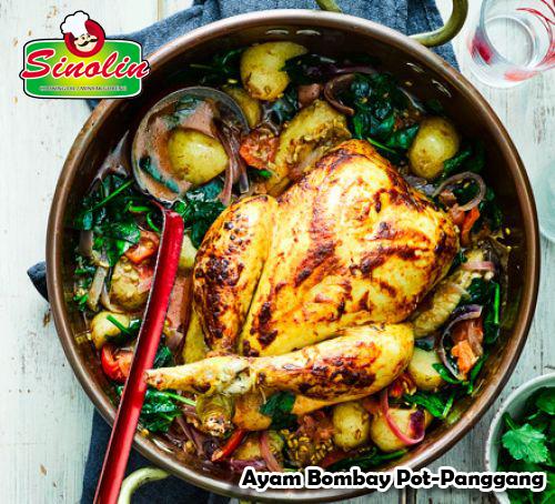 Ayam Bombay Pot-Panggang Oleh Dapur Sinolin
