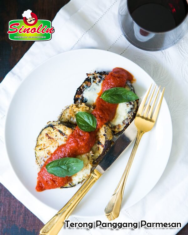 Grilled Eggplant Parmesan By Dapur Sinolin