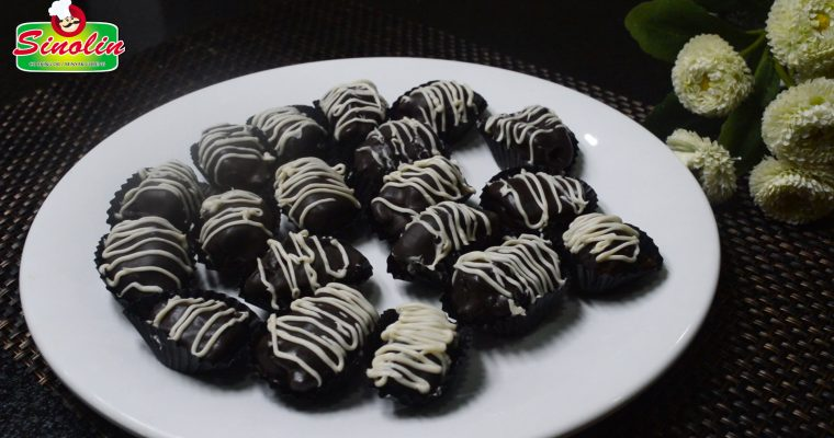 Kurma Coklat Isi Kacang Mente Oleh Dapur Sinolin