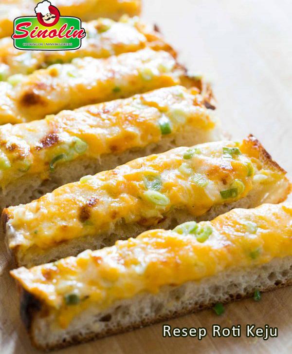 Resep Roti Keju Oleh Dapur Sinolin