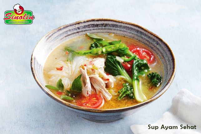 Sup Ayam Sehat Oleh Dapur Sinolin