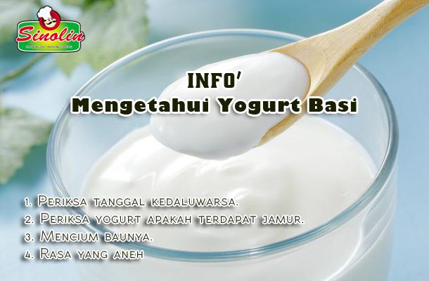 Info: Mengetahui Yogurt Basi Oleh Dapur Sinolin