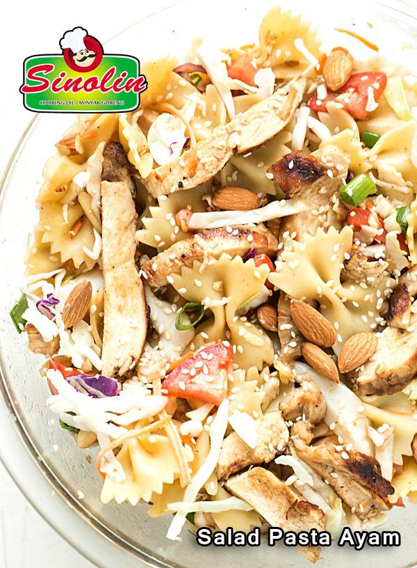 Resep Salad Pasta Ayam Oleh Dapur Sinolin