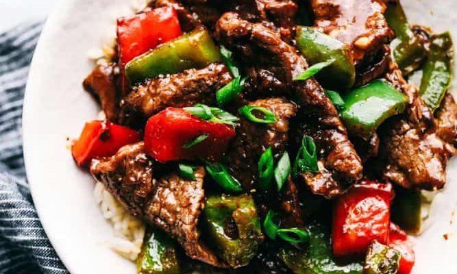 Steak dengan Paprika yang Menakjubkan Oleh Dapur Sinolin