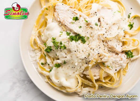 Copycat Pasta with Chicken By Dapur Sinolin
