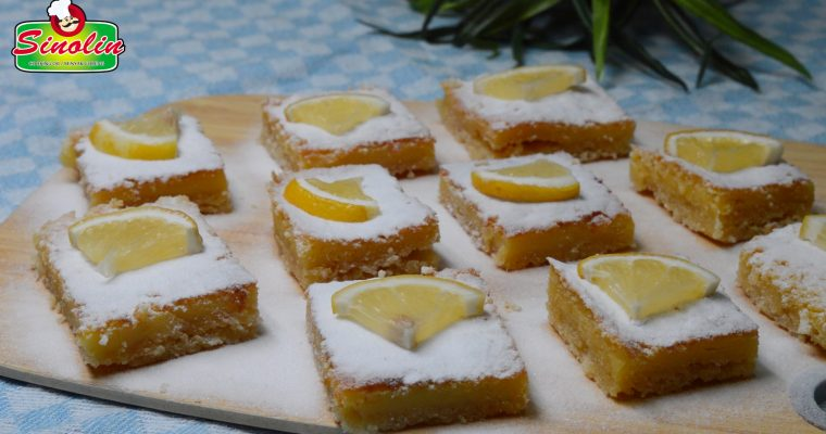 Bar Lemon Sempurna Oleh Dapur Sinolin