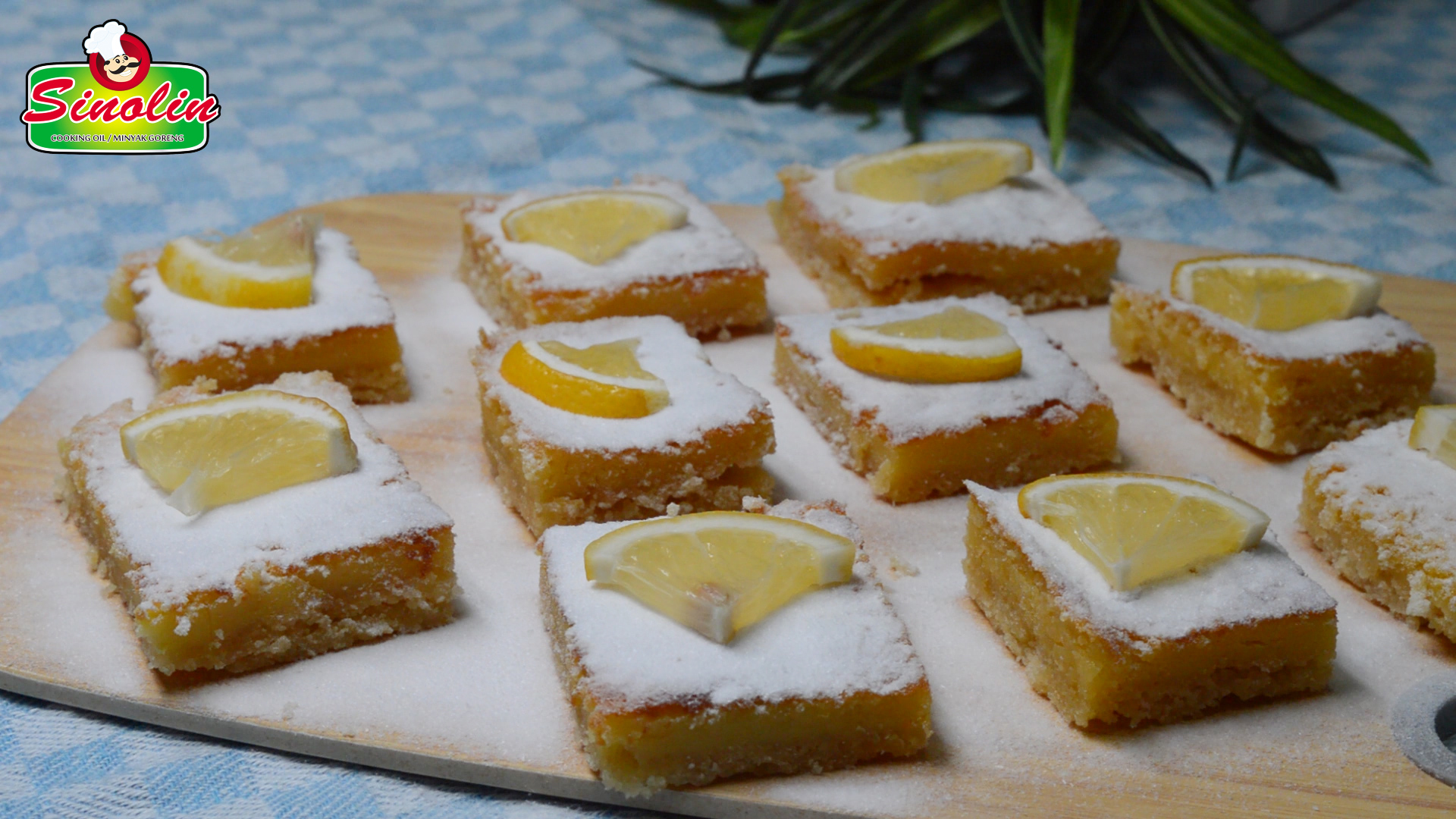 Perfect Lemon Bars By Dapur Sinolin