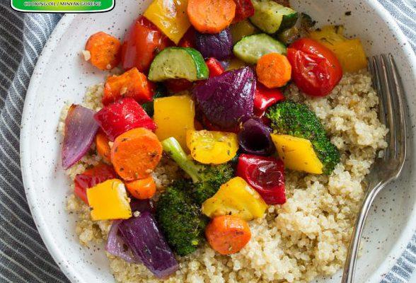 Sayuran Panggang Oleh Dapur Sinolin