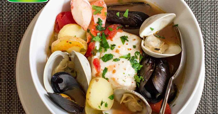 Sup Seafood Cioppino oleh Dapur Sinolin