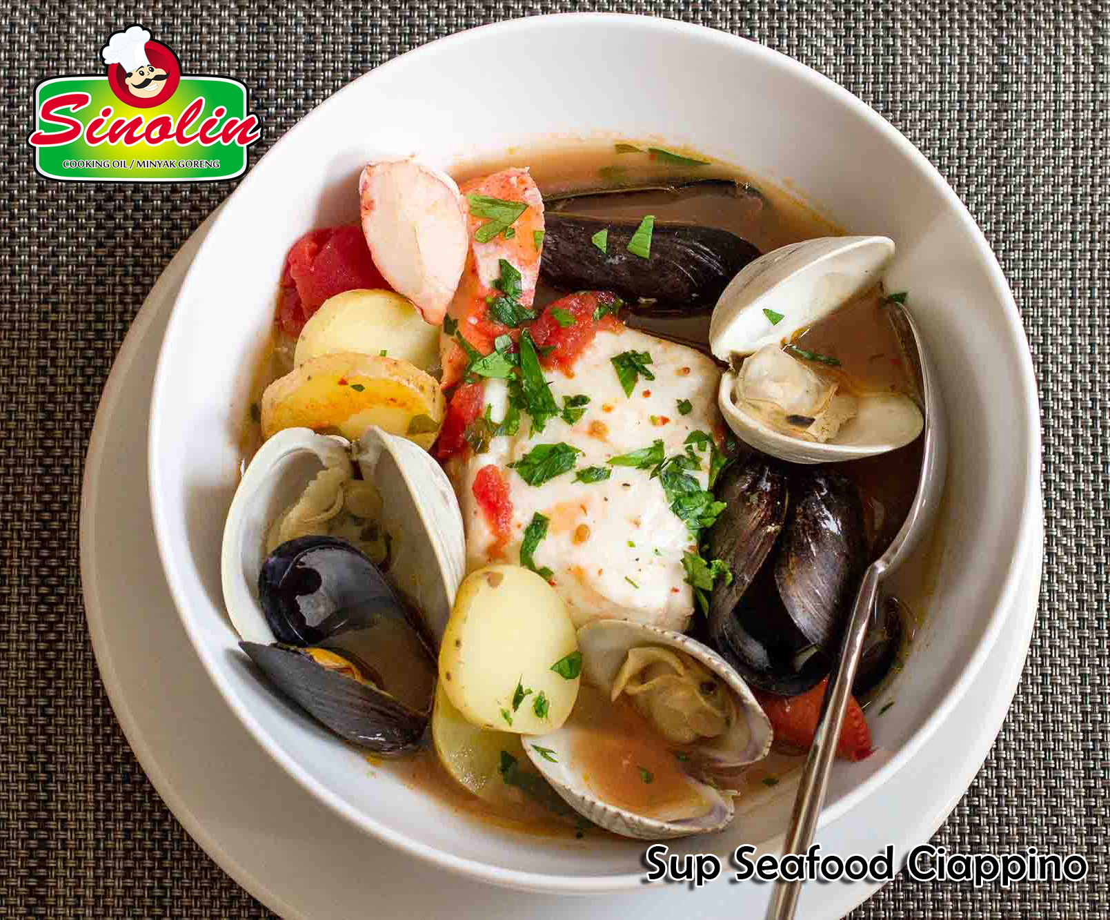 Cioppino Seafood Soup by Dapur Sinolin