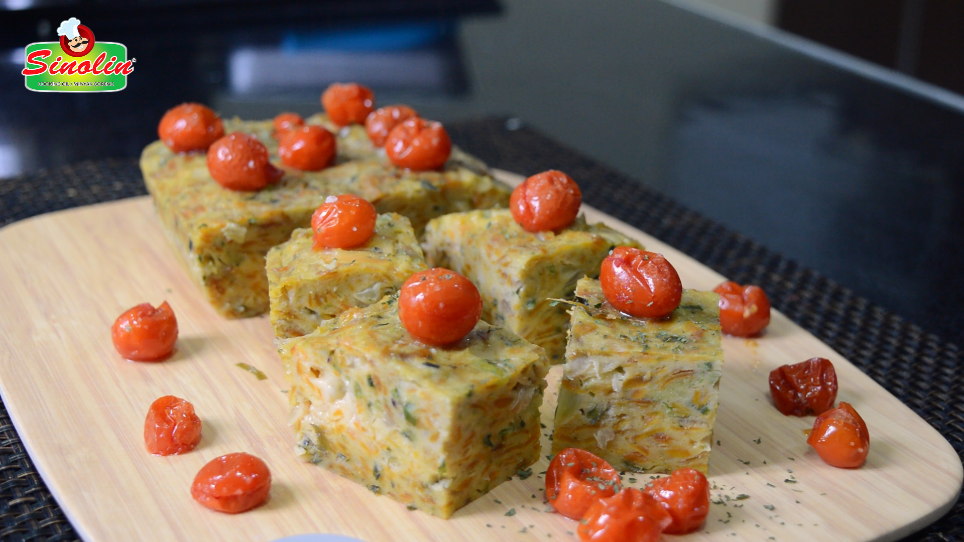 Irisan Brokoli dan Ubi jalar oleh Dapur Sinolin