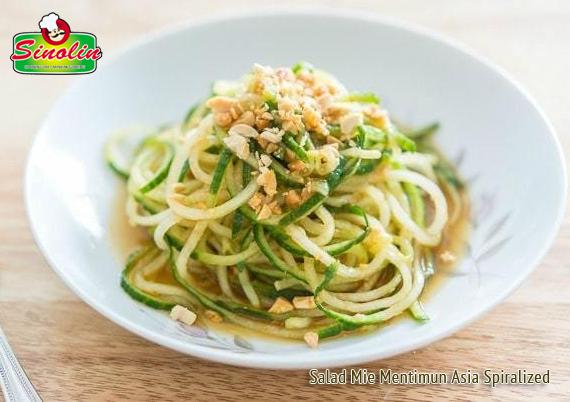 Resep Salad Mie Mentimun Asia Spiralized oleh Dapur Sinolin
